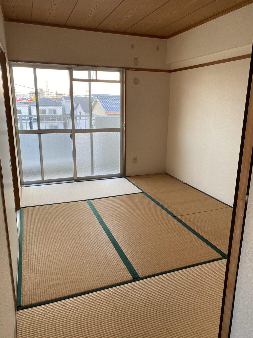 和室の空室