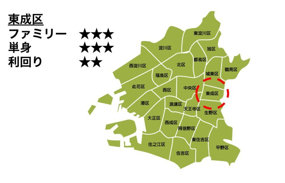 東成区の位置