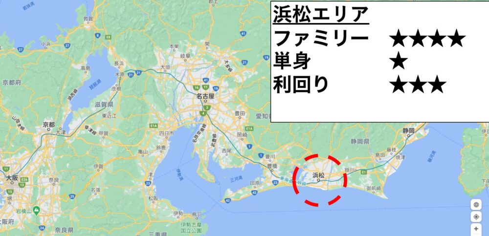 浜松の位置