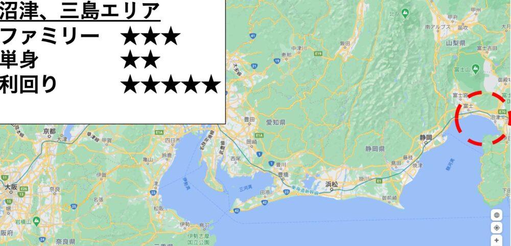 沼津の位置
