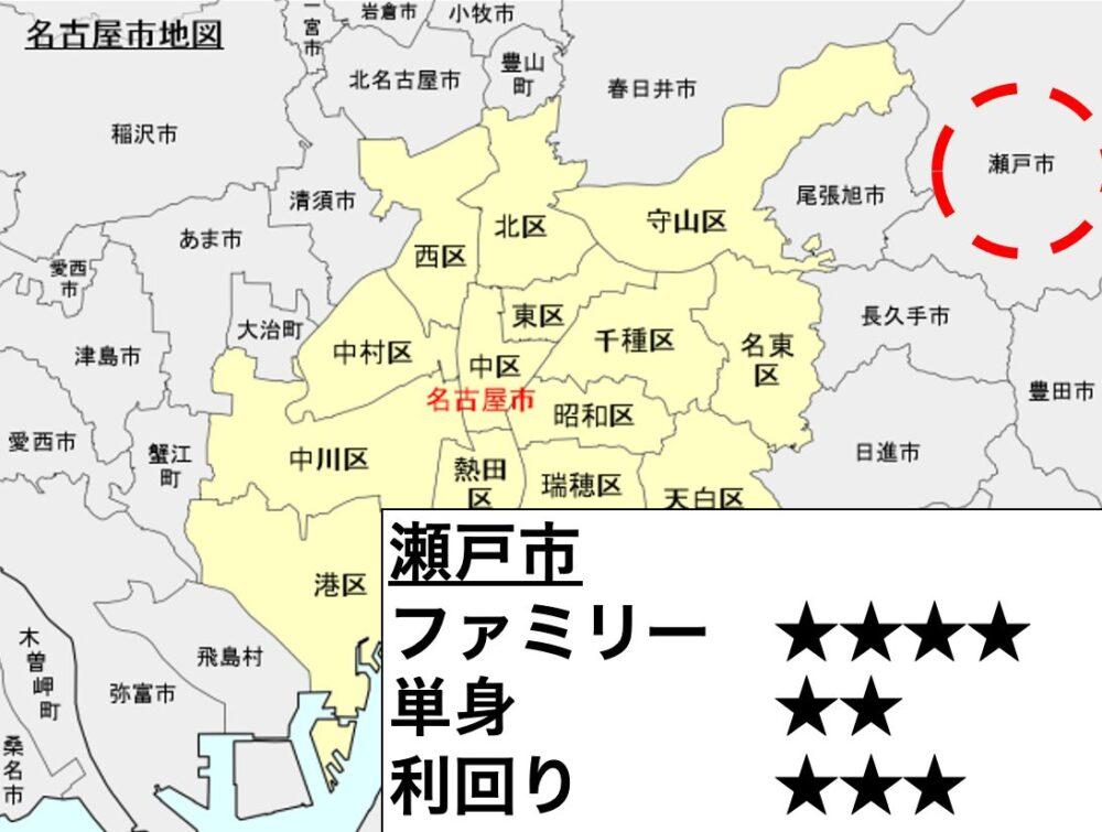 瀬戸市の位置